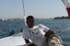 Faluka ride on the Nile at Aswan - the crew