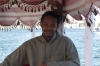 Boat ride to Nubian Village, Aswan - the crew