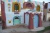Nubian stye hotel, Aswan