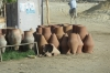 Water jugs provide water for long and short distance travellers