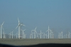 Windfarms in the Gobi Deseert between Turpan & Urumqi