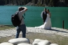 Even Bruce got involved in the Bridal photography at the Grand Canyon of Urumqi