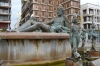 Turia fountain in the Virgin's Square, Valencia