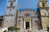 Main entrance to St John's Co-Cathedal, Valletta, Malta (undergoing renovation)