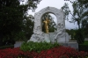 JohannStrauss' statue in Stadtpark, Vienna AT