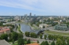 View from the Upper Castle, Vilnius LT