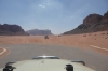 Wadi Rum - end of the road