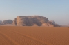 Wadi Rum - the Beduoin camp, sunrise