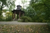 Japanese rotunda in Wilanów Park. Warsaw PL