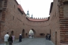 The wall around the old town of Warsaw PL.