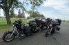 Roadstops, RVs and motor cycles