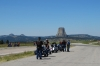 Devil's Tower, made famous in 'Close Encounters of the Third Kind' WY