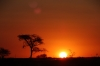 Sunset from Red Dunes Resort, Kalahari, Namibia