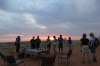 Sundowners Drinks, Kalahari Red Dunes Lodge, Namibia