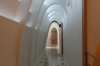 Passageway on top level (maids' quarters). Casa Batlló, Barcelona ES