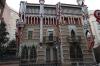 Gaudi's Casa Vicens in Gracia, Barcelona ES