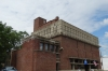 Frank Lloyd Wright warehouse for AD German in Richland Center