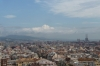 View to Badalona from Sagrada Familia, Barcelona ES