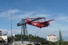 The red plane on Tibidabo, Barcelona ES