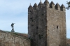 Old city walls of Barcelona ES