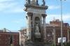 Plaça d'Espanya, Barcelona.  Old bull ring is behind