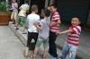Boys playing in the village, Shibaozhai Pagoda, Yangzi River cruise CN