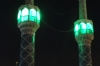 Minarets where the Imam Hussain's Mourning Ceremony was held