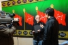 Bruce being interviewed for the Fans of Imam Hussain documentary