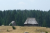Wooden houses near Žabljak
