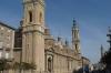 The cathedral in Zaragoza