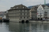 Rathaus (Town Hall) on the Limmat River, Zurich CH