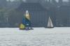 Sailing on the Zürichsee, Zürich CH